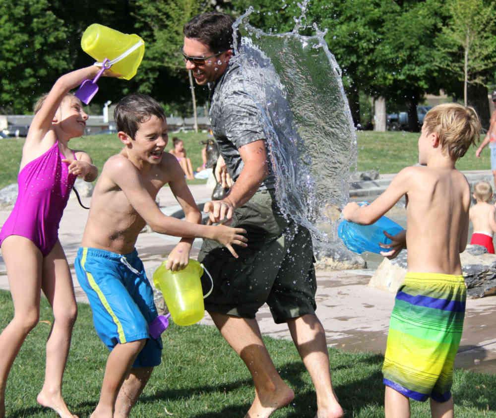 Festa a tema acqua