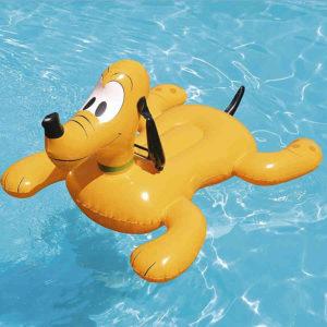 Gonfiabile a forma di Pluto